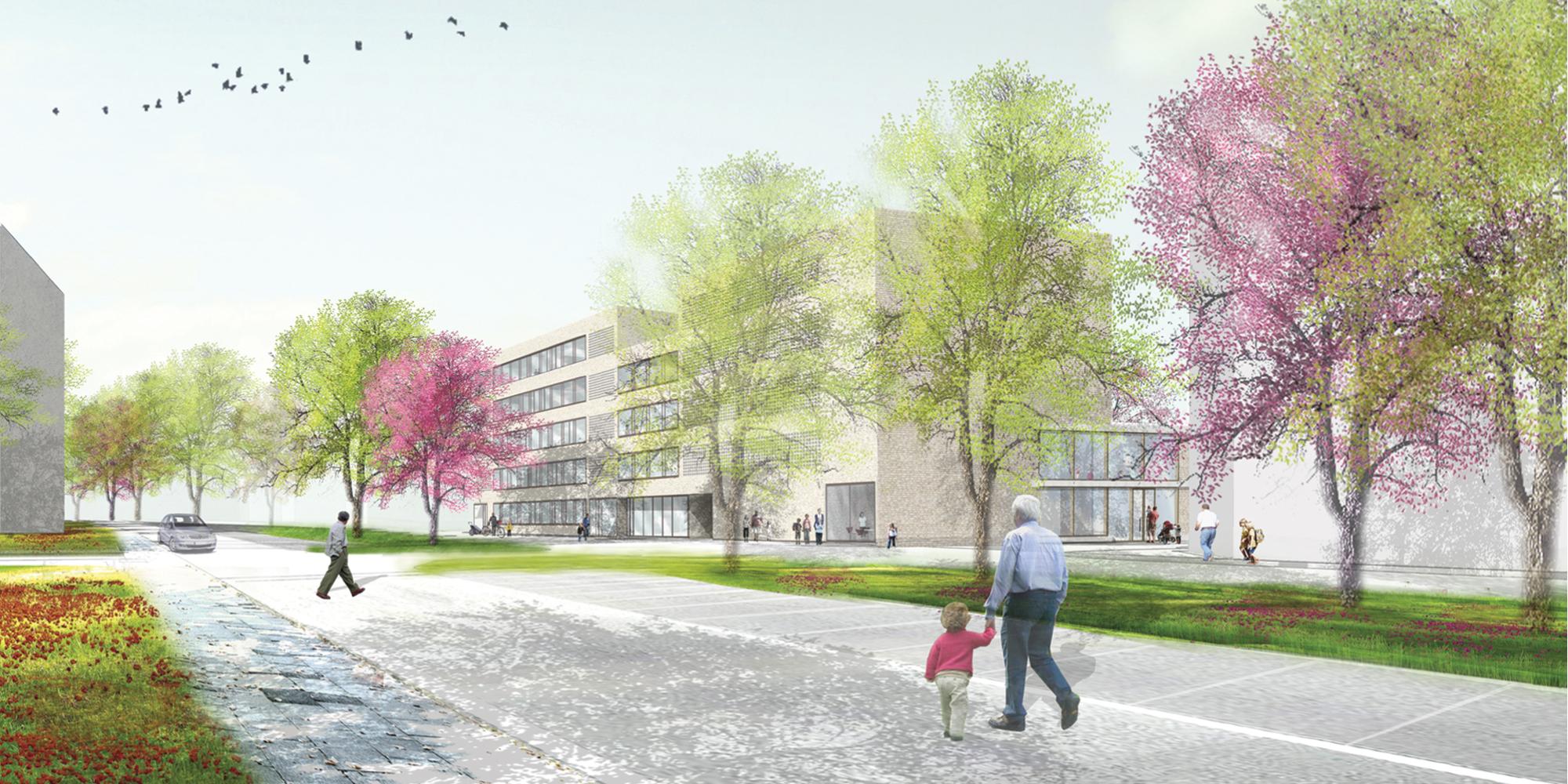 Waechter-Waechter_Hafenschule Offenbach