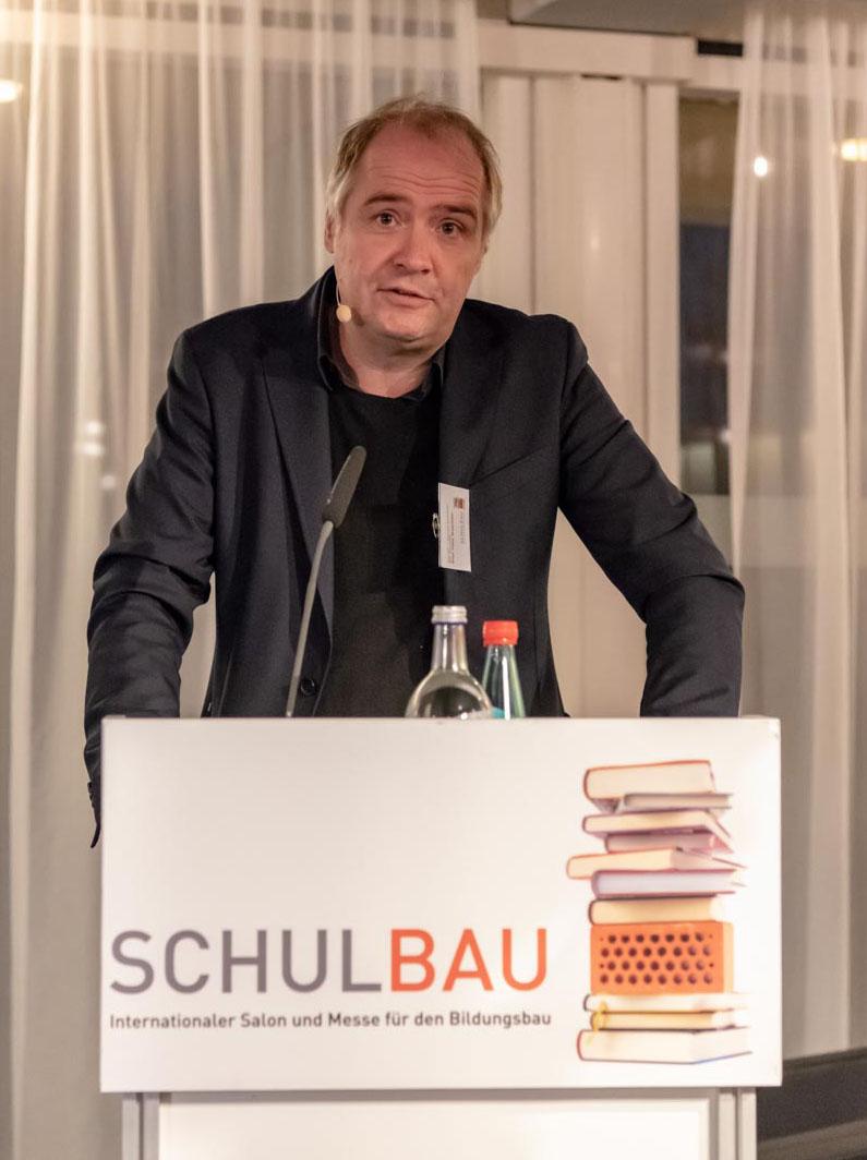 Prof. Felix Waechter - Schulbaumesse Ffm 2018