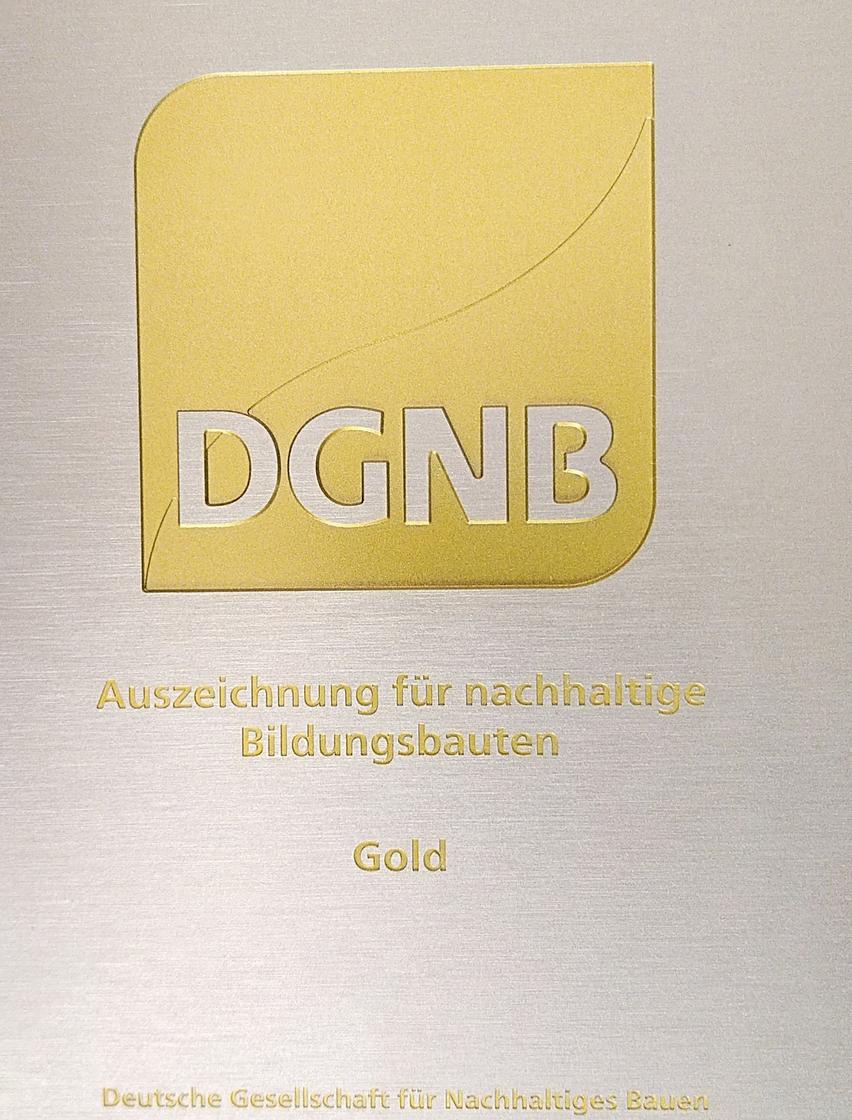 DGNB Gold für Akademie der GIZ am Campus Kottenforst