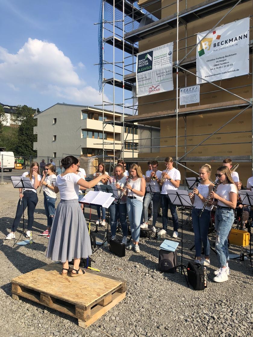 Waechter + Waechter Richtfest Inklusives Wohnen Sundern Kurze Straße