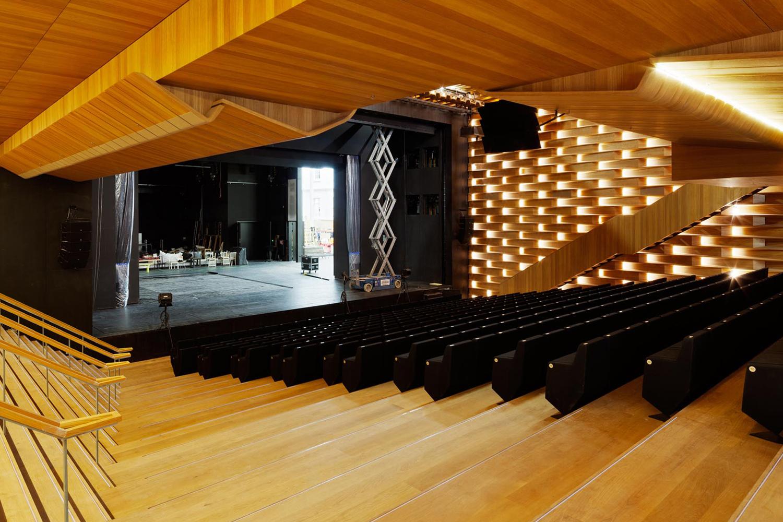 Theater Heidelberg Neuer Saal Treppe