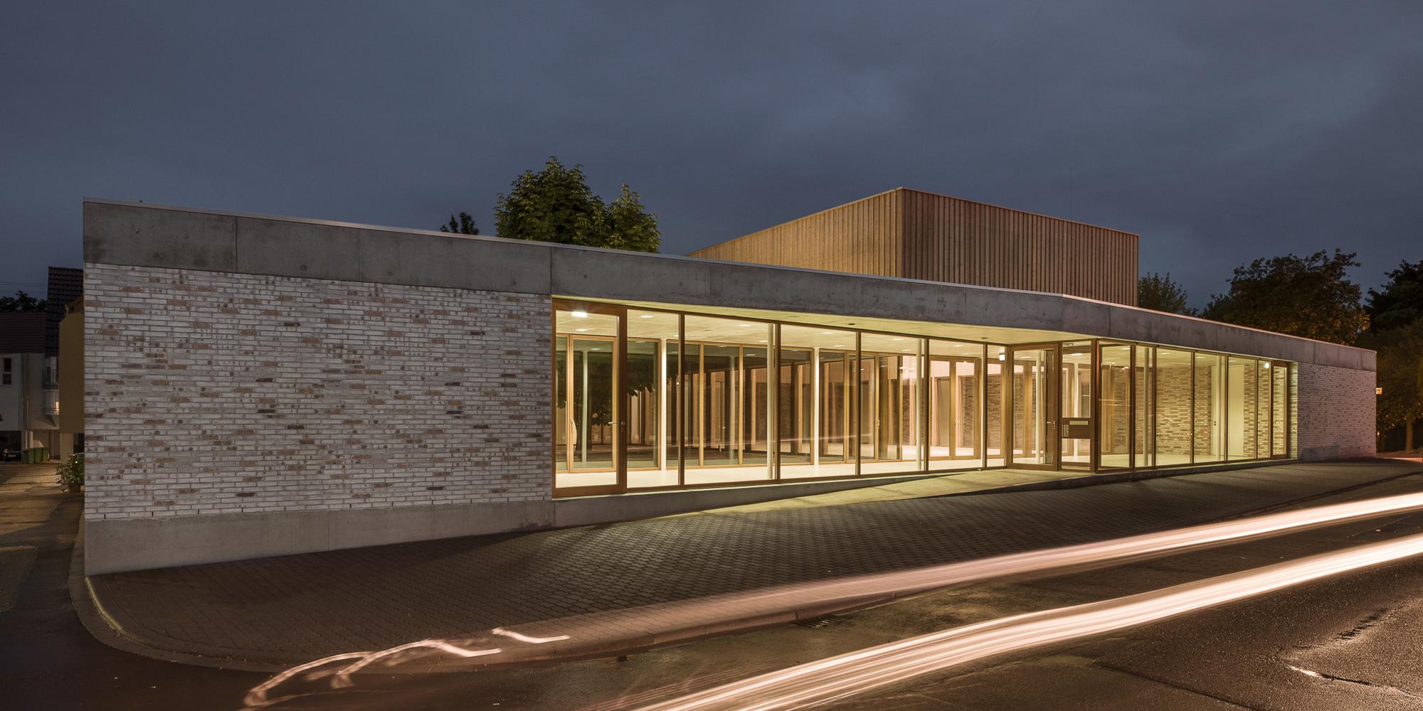 Gemeindezentrum Petrusgemeinde Wiesloch Waechter + Waechter