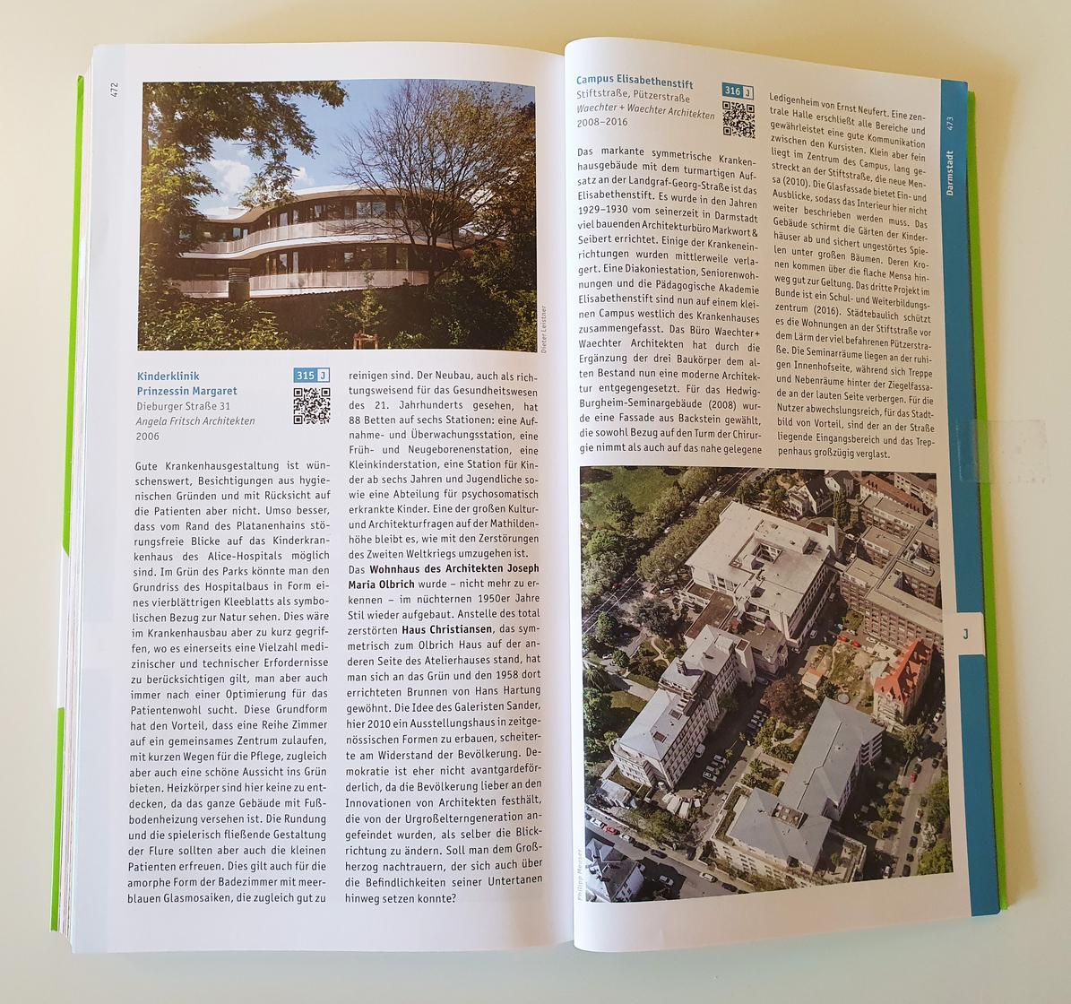 Architekturführer Metropolregion Frankfurt Rhein-Main_Pädagogische Akademie Elisabethenstif Darmstadt