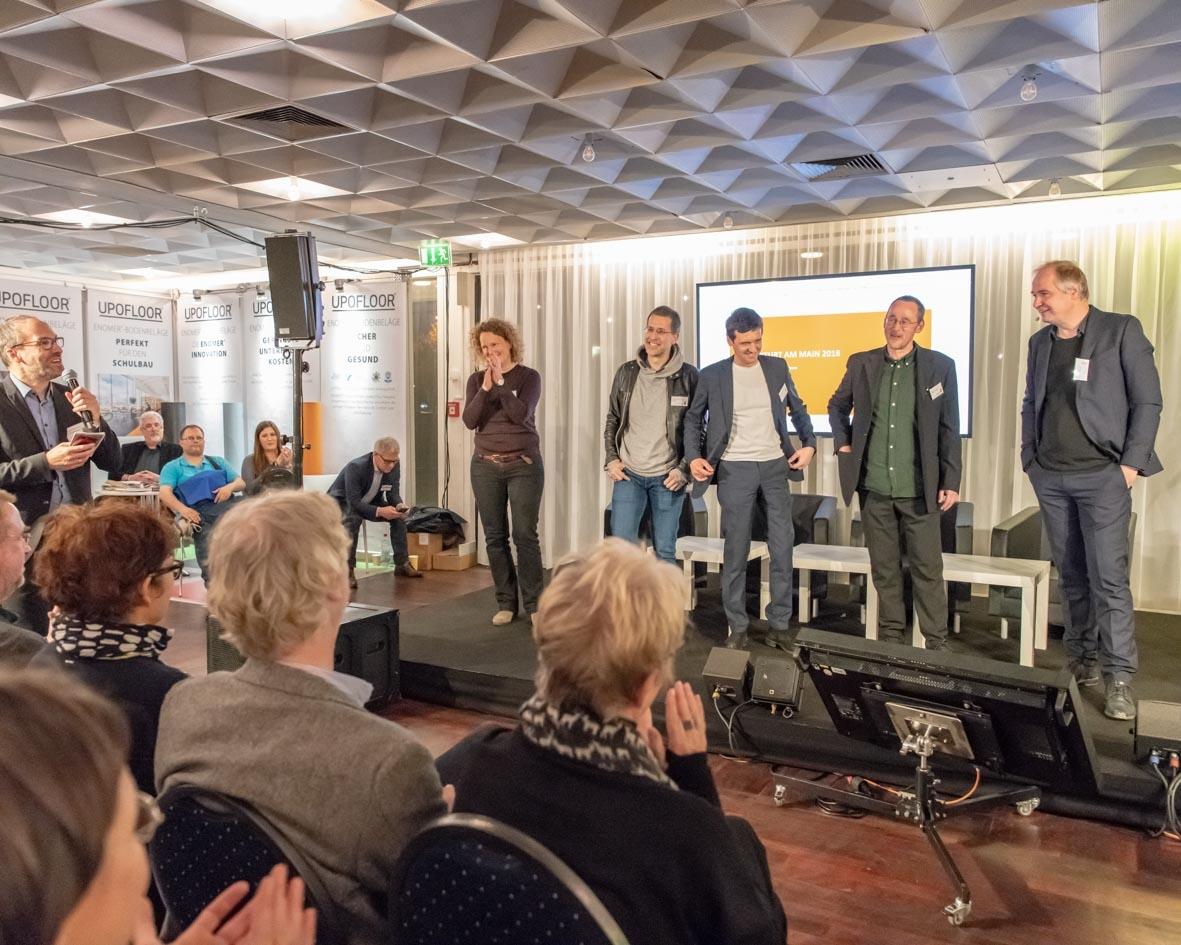 Architekten-Slam - Schulbaumesse Ffm 2018