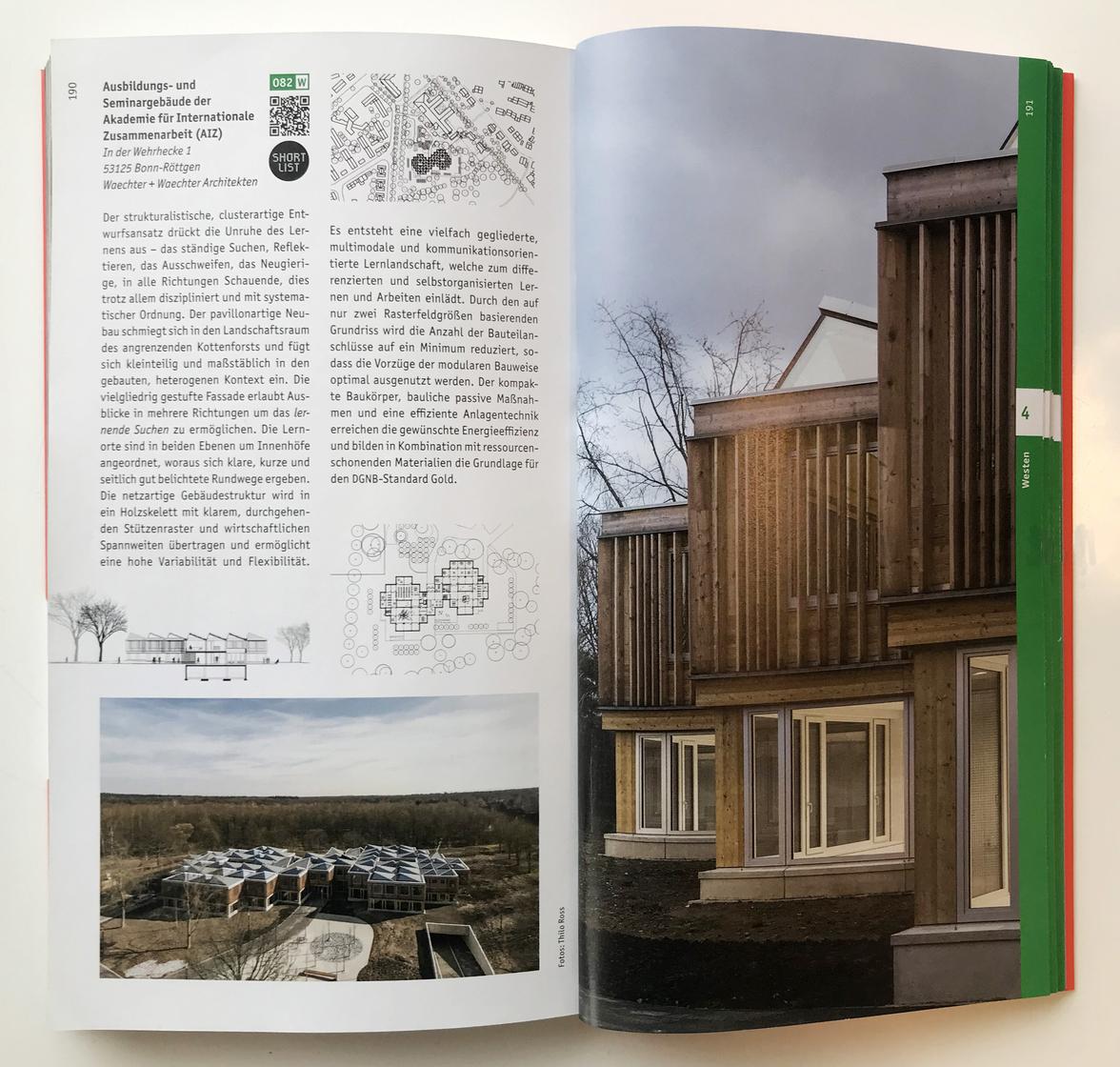 Architekturführer Deutschland 2019 - AIZ in Bonn