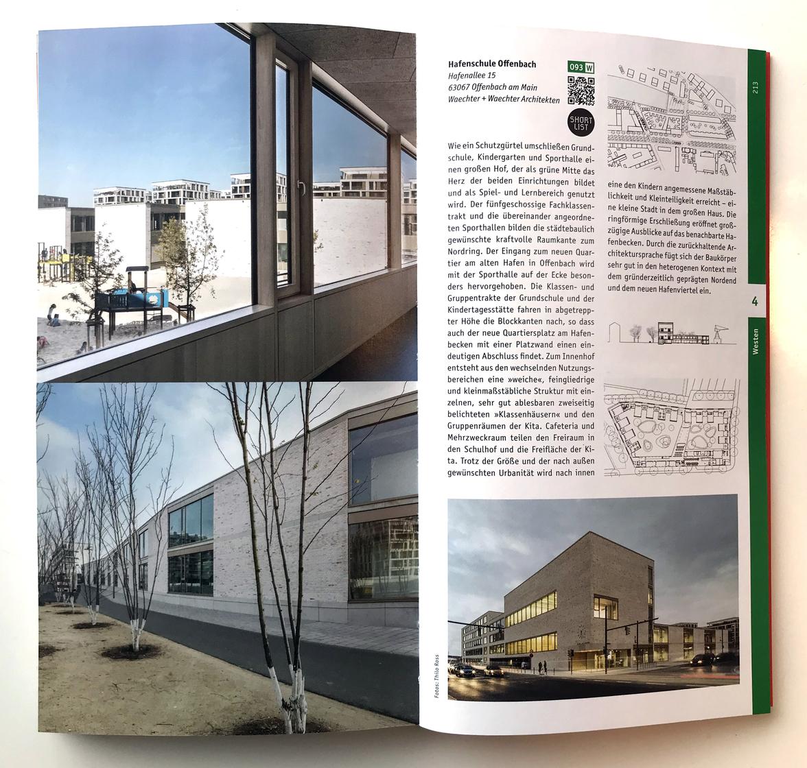 Architekturführer Deutschland 2019 - Hafenschule Offenbach