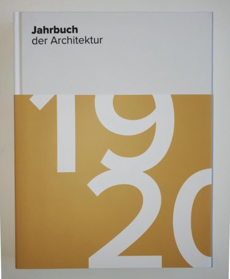 Jahrbuch der Architektur 19 20 Cover