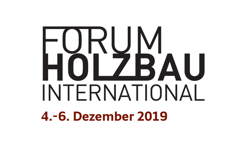 Forum Holzbau International Logo 2019