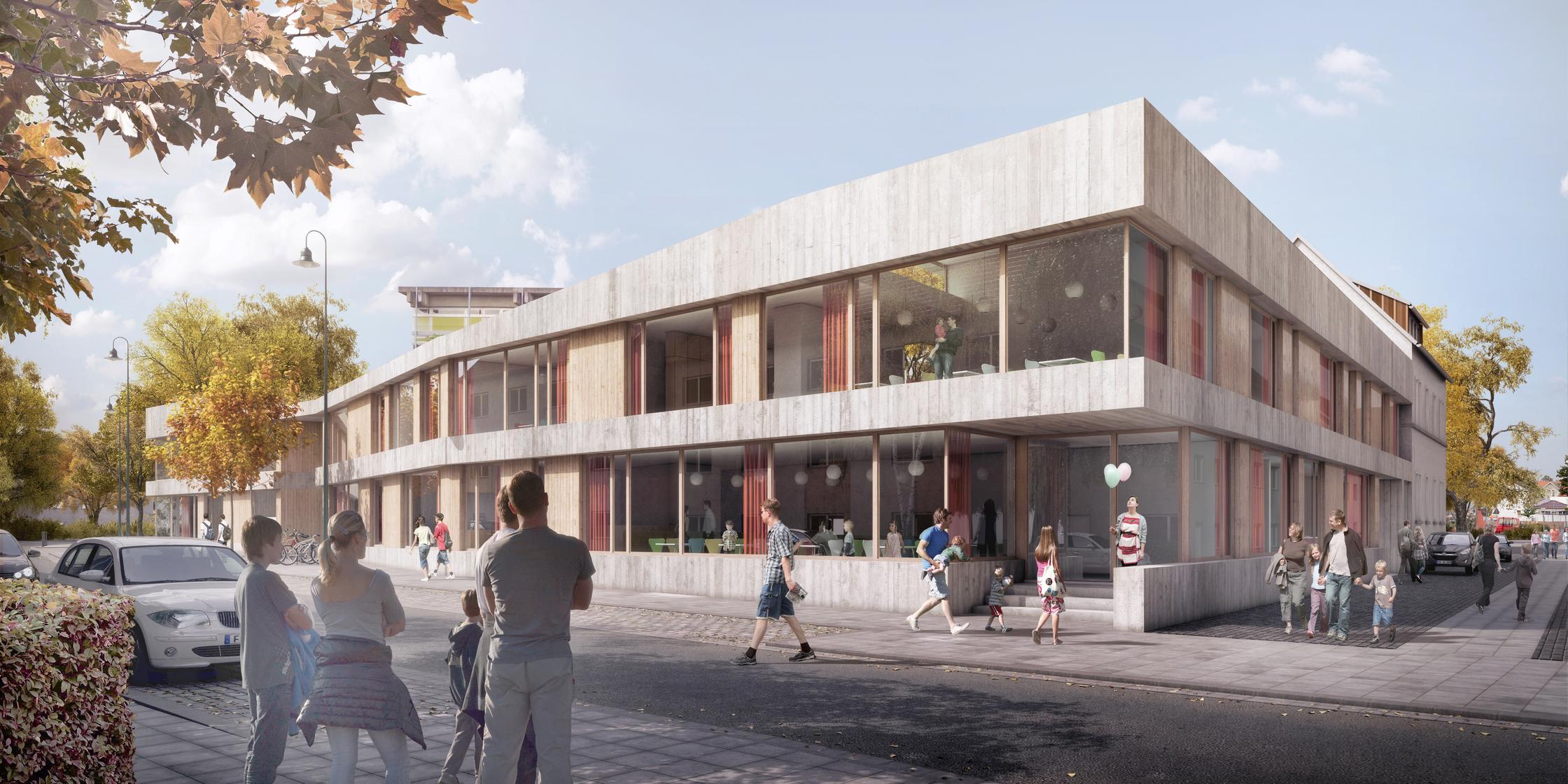 Waechter Architekten BDA Darmstadt Kinder- und Jugendzentrum Pankratiusstraße