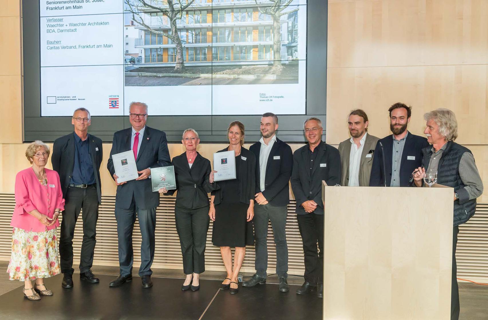 Preisverleihung Vorbildliche Bauten 2017_Seniorenwohnhaus St. Josef