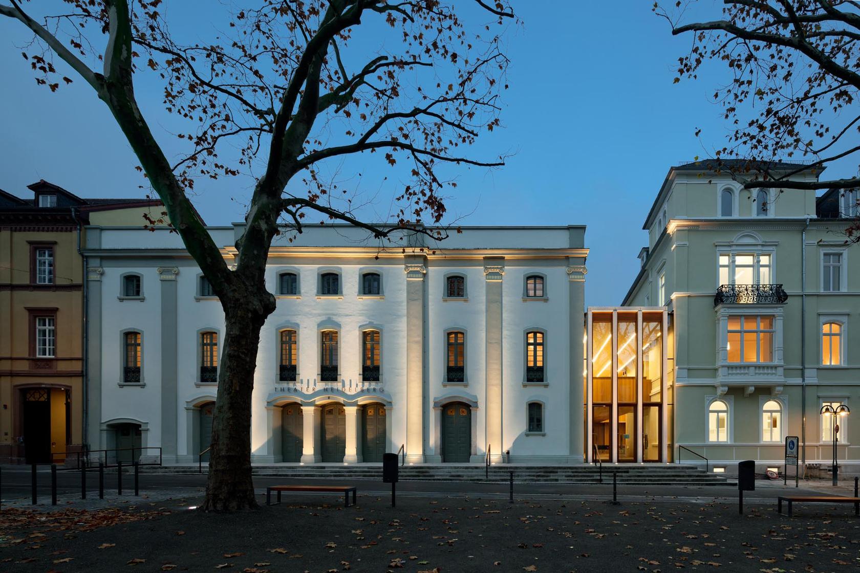 Theater Heidelberg Ansicht