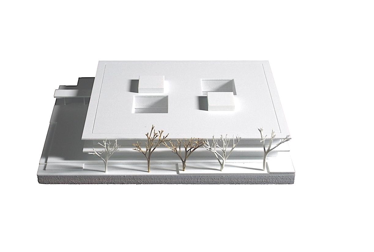 Waechter + Waechter_Theodor-Litt-Schule Gießen Modell