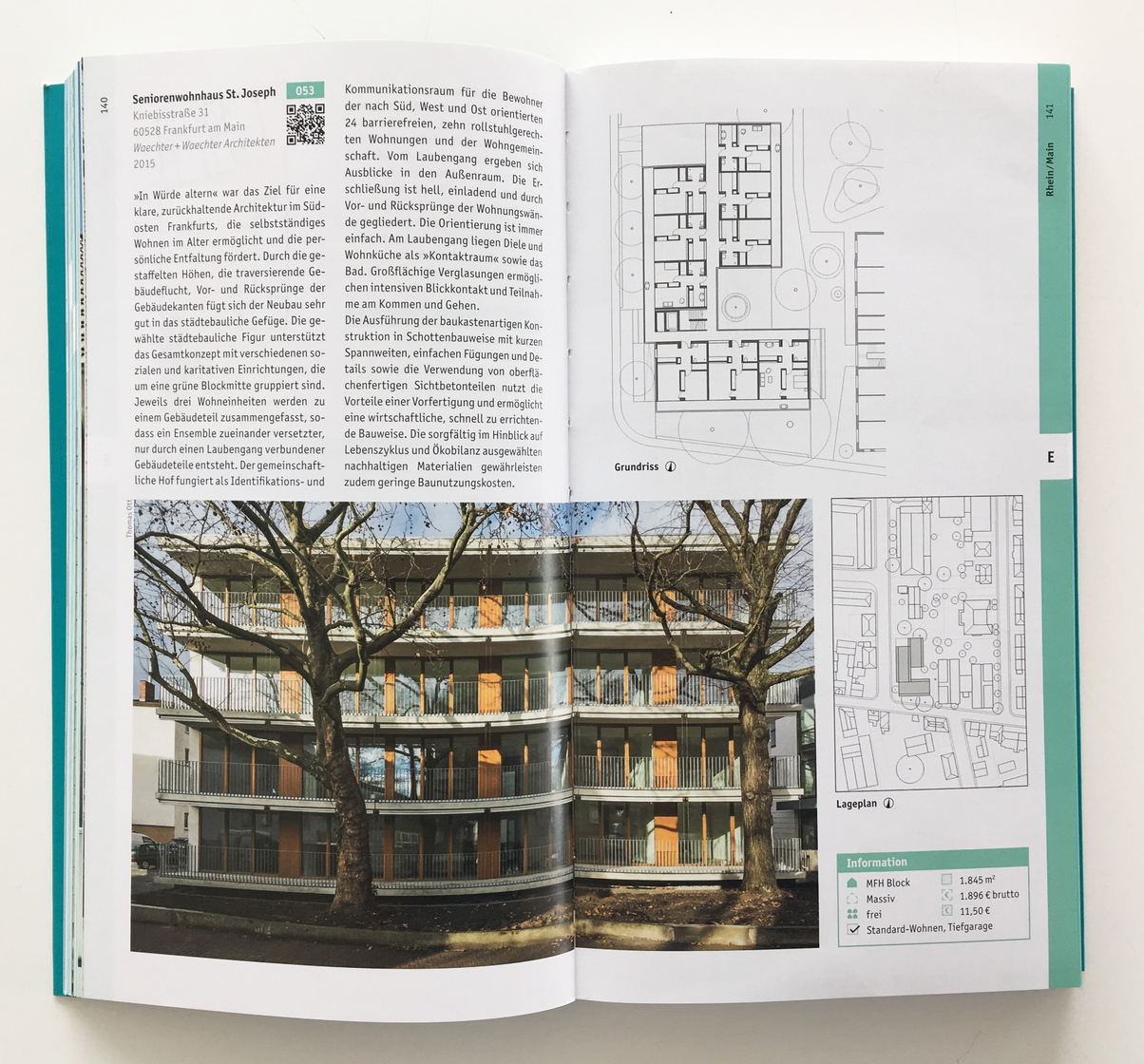 Wohnen für Alle Bautenkatalog 2019 Seniorenwohnheim St. Josef