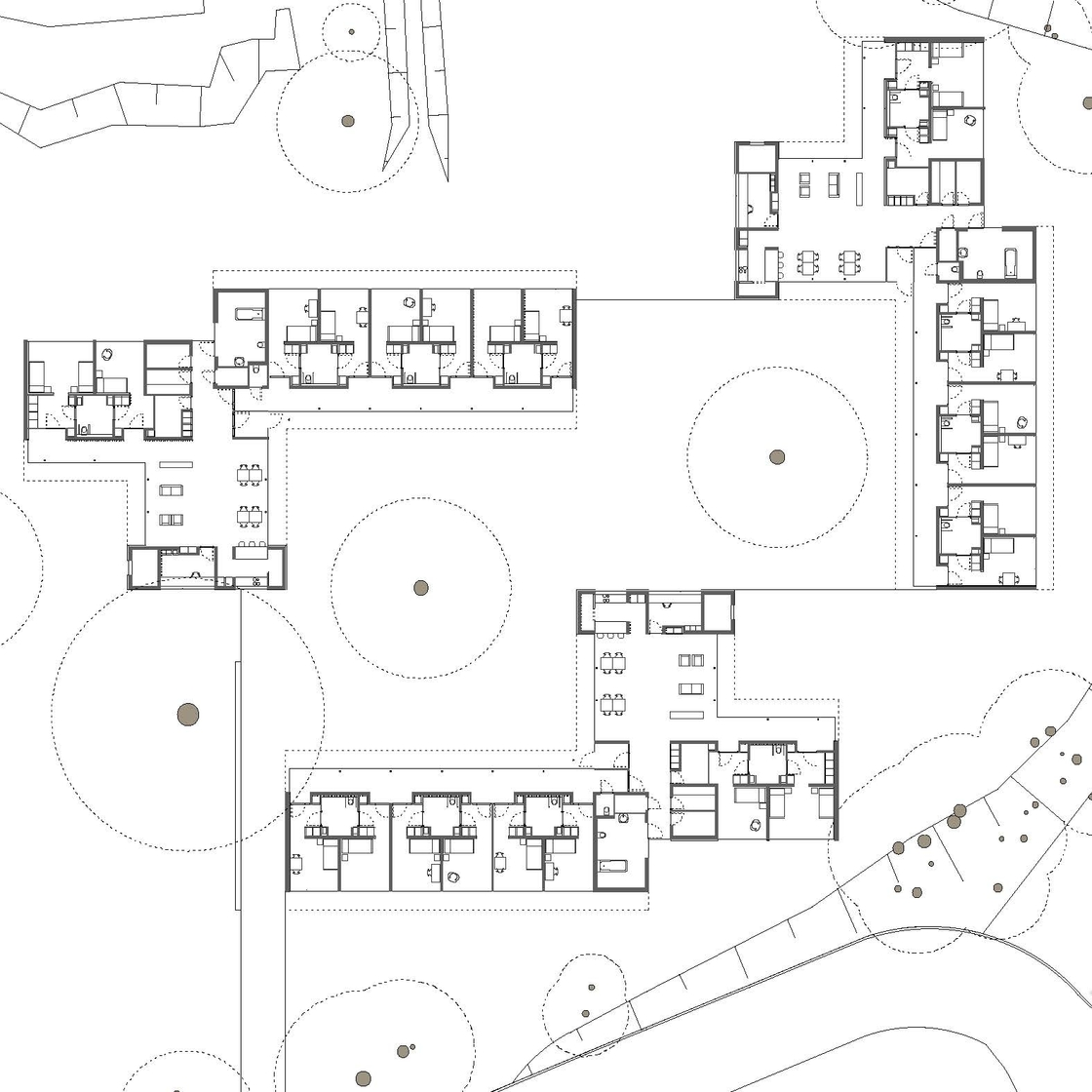 Kinderhäuser St. Vincenzstift Grundriss
