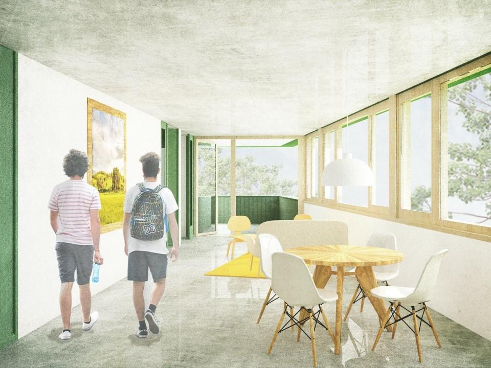 Kinderhaus Frank Frankfurt Sossenheim Waechter + Waechter