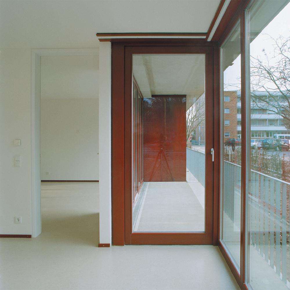 Betreutes Wohnen am Ostpark - Innenansicht Balkon