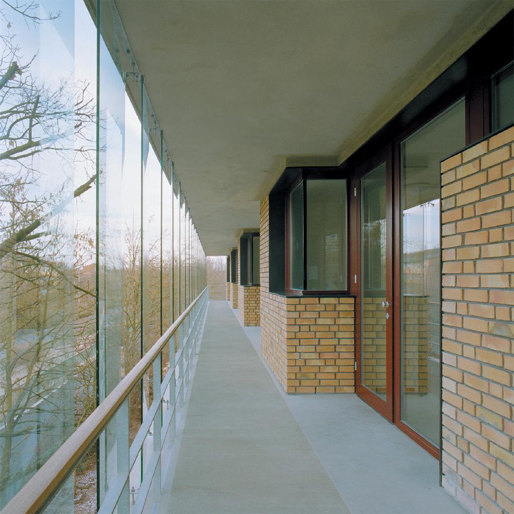 Betreutes Wohnen am Ostpark - Aussenansicht Balkon