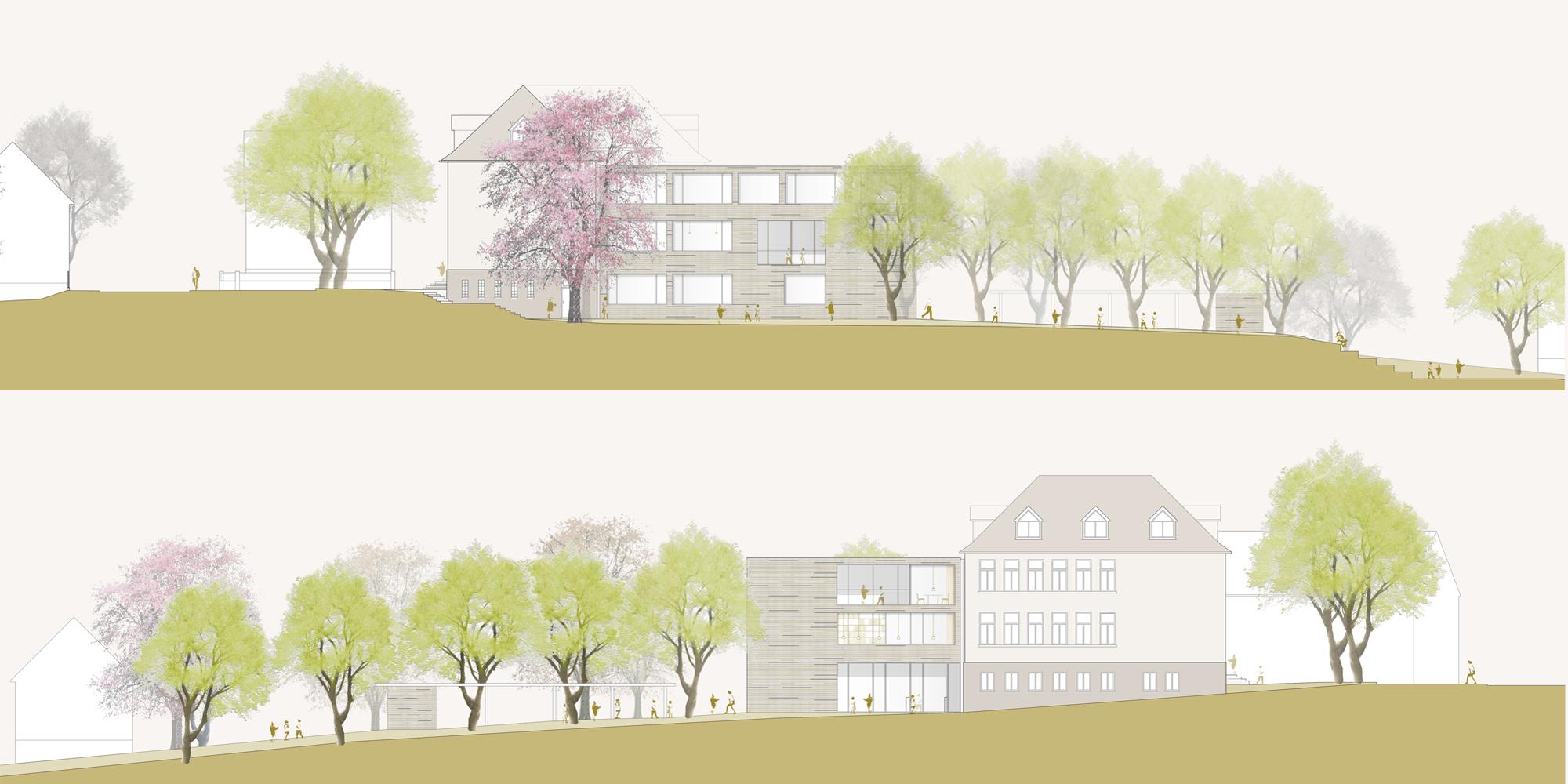 Neubau uns Sanierung der Grundschule in Krofdorf-Gleiberg
