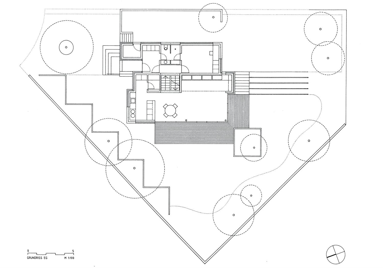 Haus A-W- Grundriss