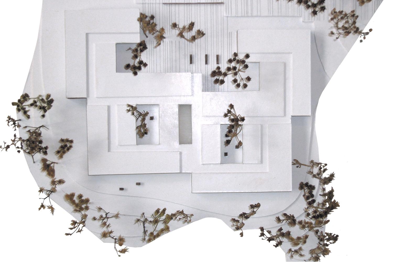 Waechter + Waechter Haus im Burggarten Modell