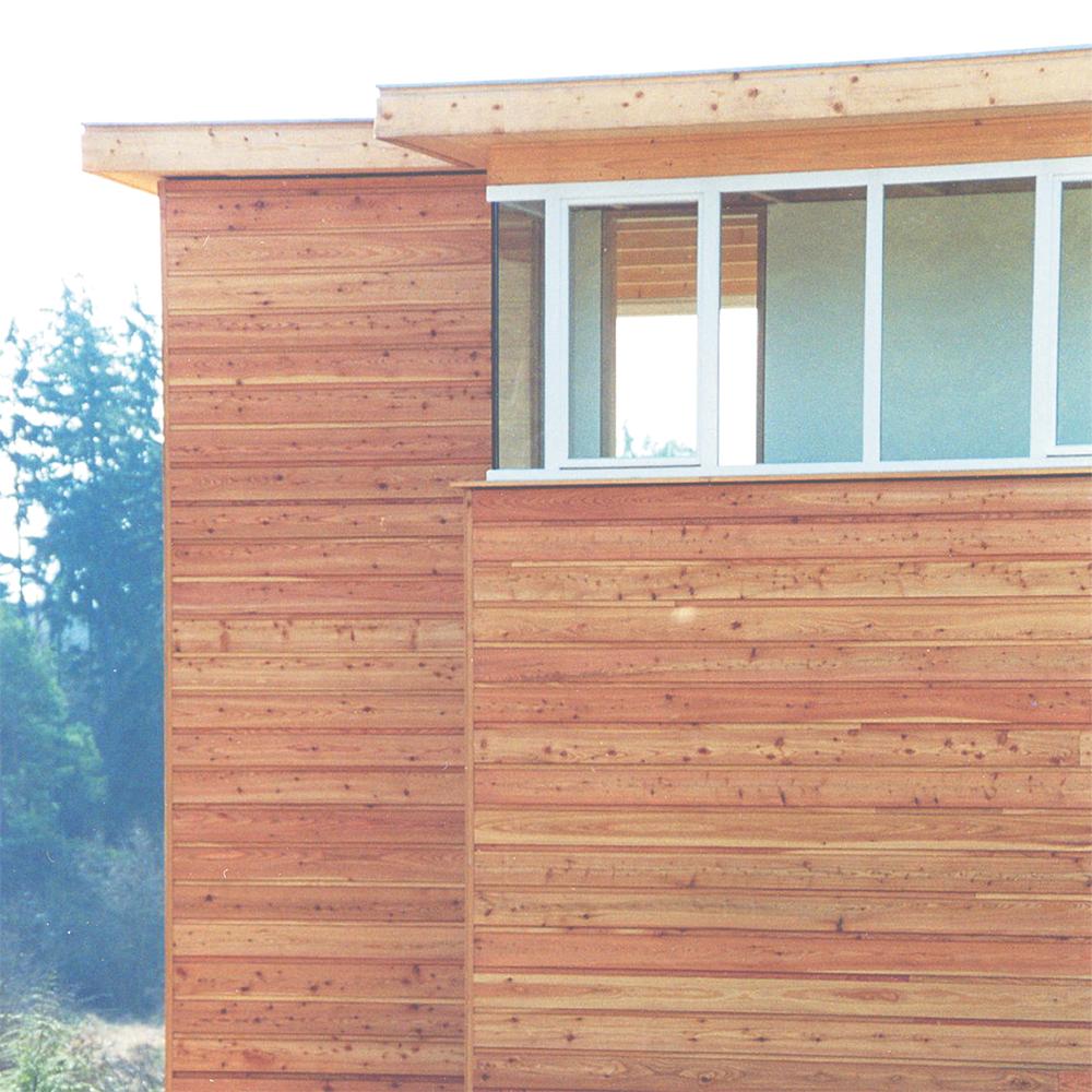 Haus L - Fassadenvorsprung
