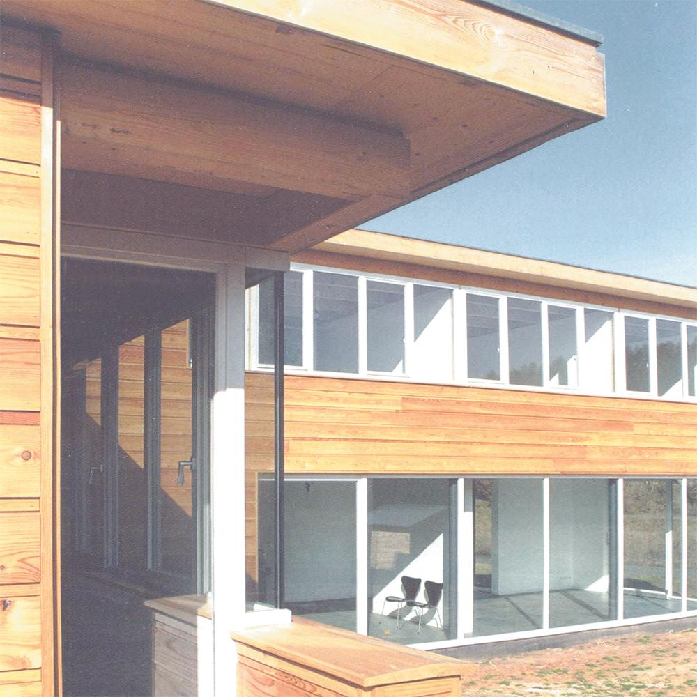 Haus L - Gebaeudekante