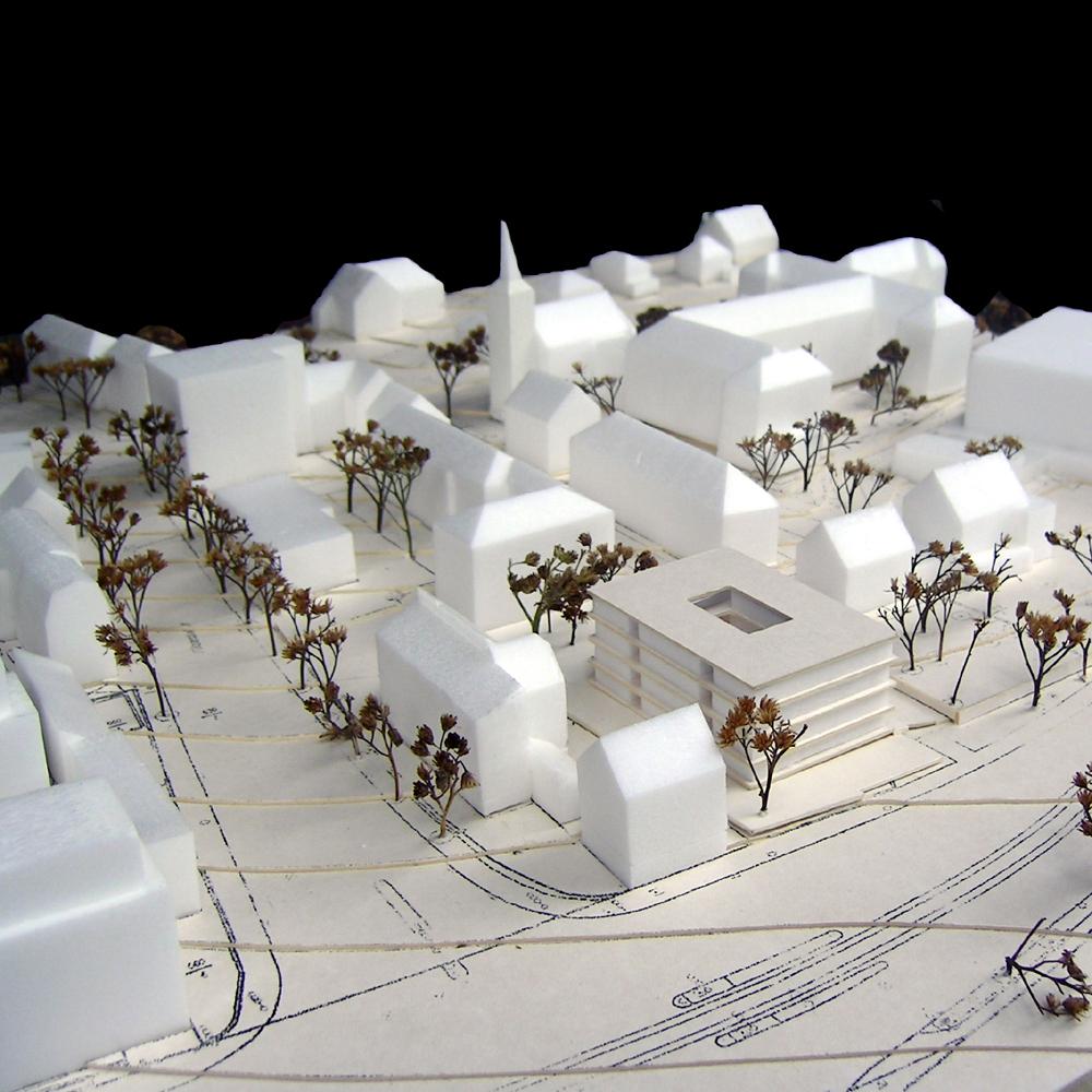 Hedwig-Burgheim-Haus - Modell