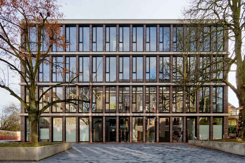 Hedwig-Burgheim-Haus - Lageplan - Aussenansicht