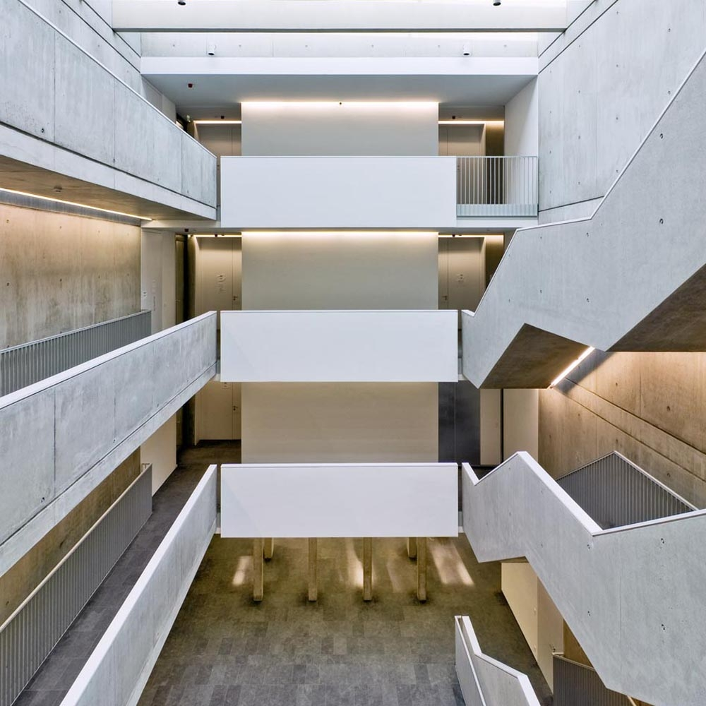Hedwig-Burgheim-Haus - Treppenraum