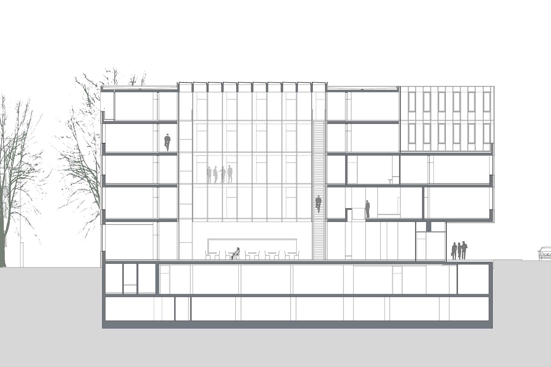 Justizzentrum, Oberlandesgericht und Polizeistation