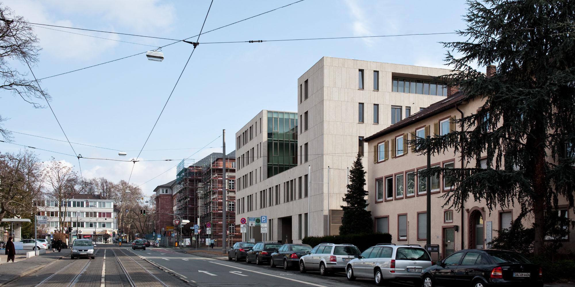 Justizzentrum Aussenansicht 2