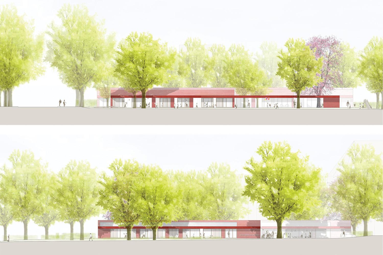 Kindergarten Apfelwiese - Ansicht