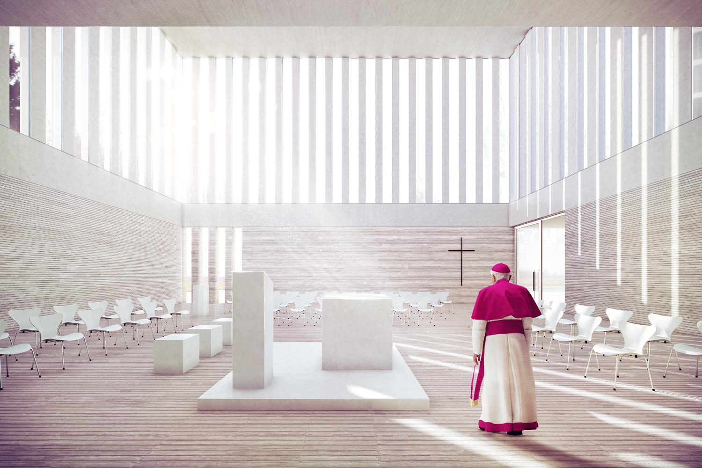 Kirchengemeinde Christ-König Innenperspektive