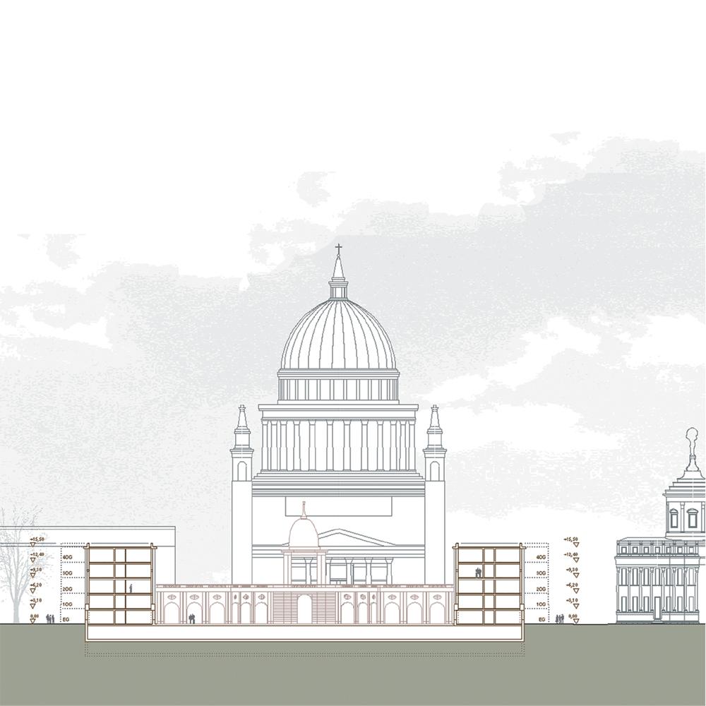 Landtag Berlin-Brandenburg - Querschnitt