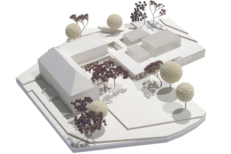 Musikzentrum - Modellfoto