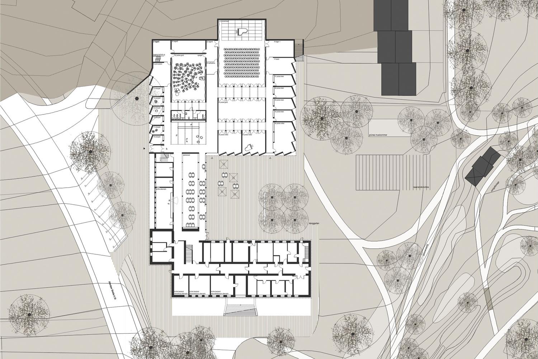 Musikzentrum - Grundriss