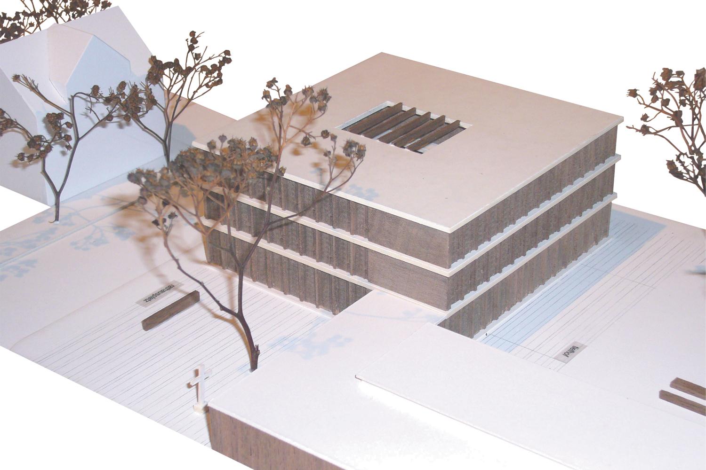 Rathaus Grosskrotzenburg -Modell
