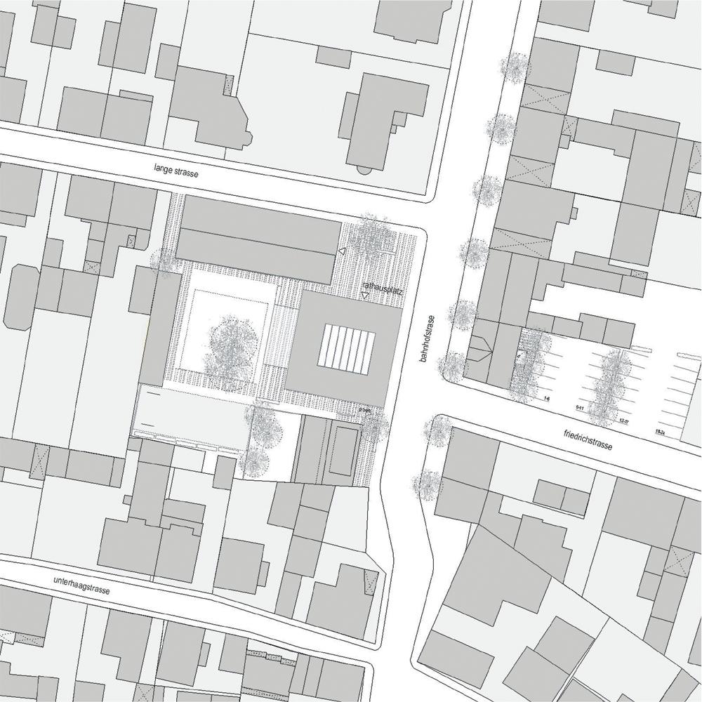 Rathaus Grosskrotzenburg - Lageplan