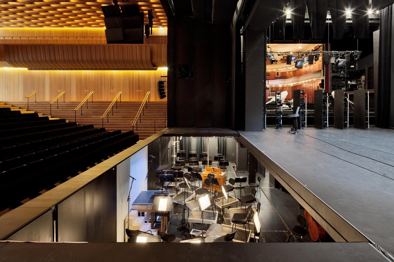 Theater und Philharmonisches Orchester I Orchestergraben