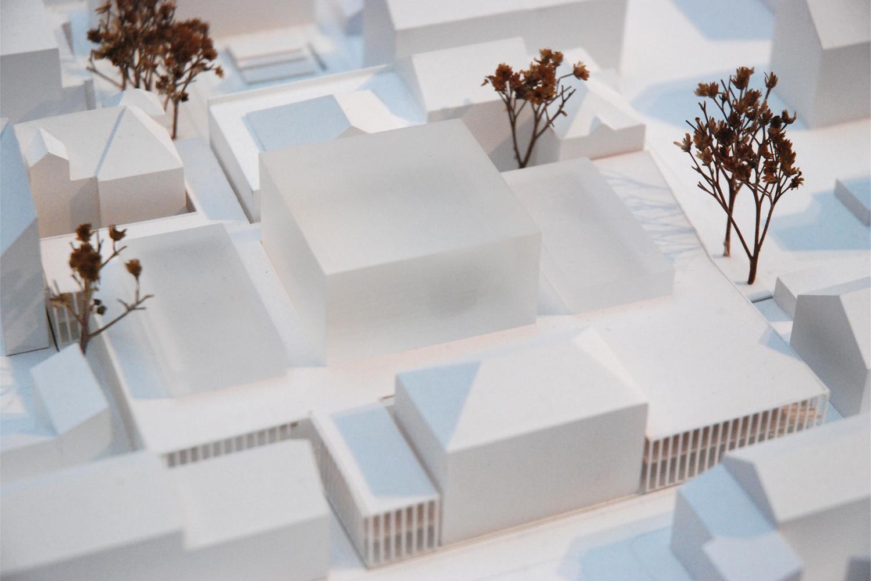 Theater Heidelberg - Modell