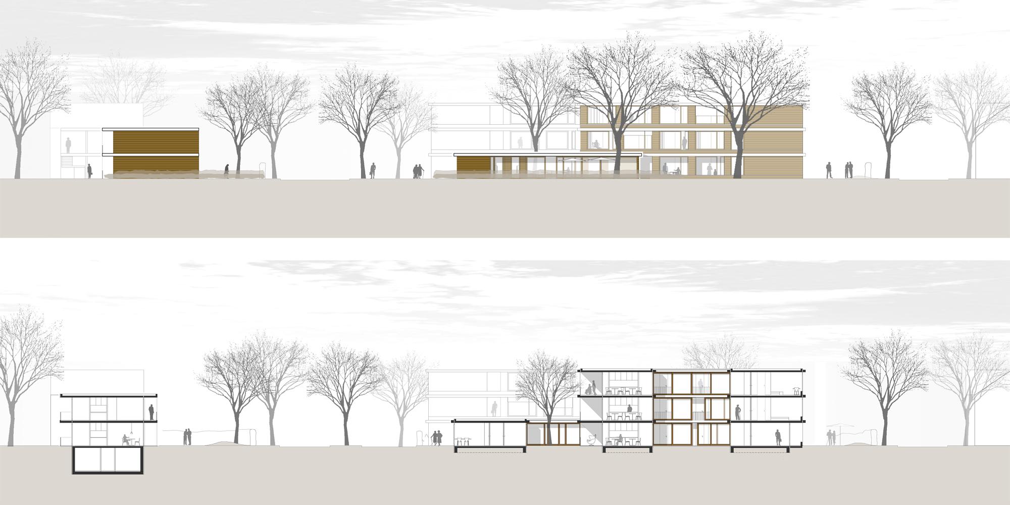 zentrum f r wohnen und pflege waechter waechter architekten bda darmstadt. Black Bedroom Furniture Sets. Home Design Ideas