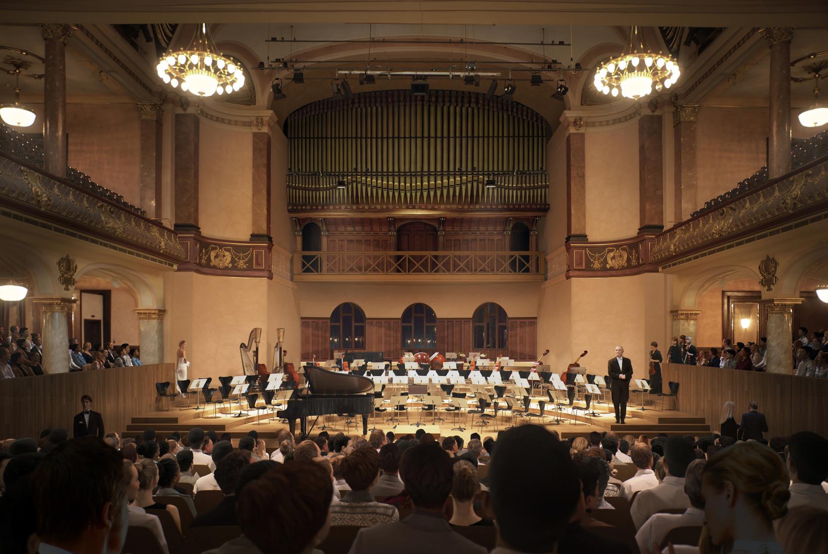 Heidelberg Konzerthaus Grosser Saal Konzert W+W