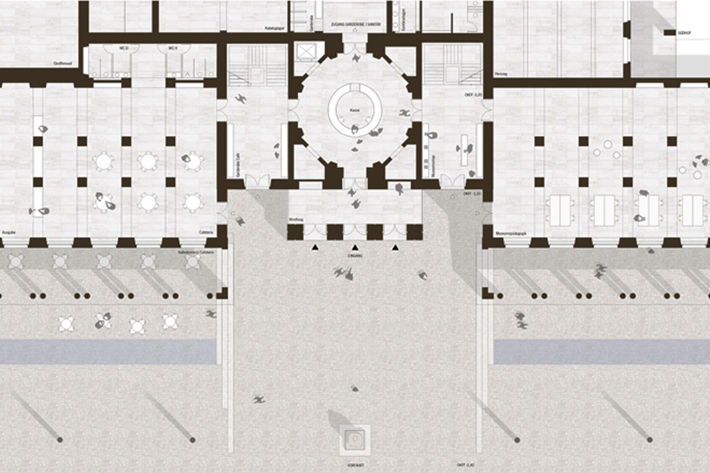 Grundriss Eingangsebene