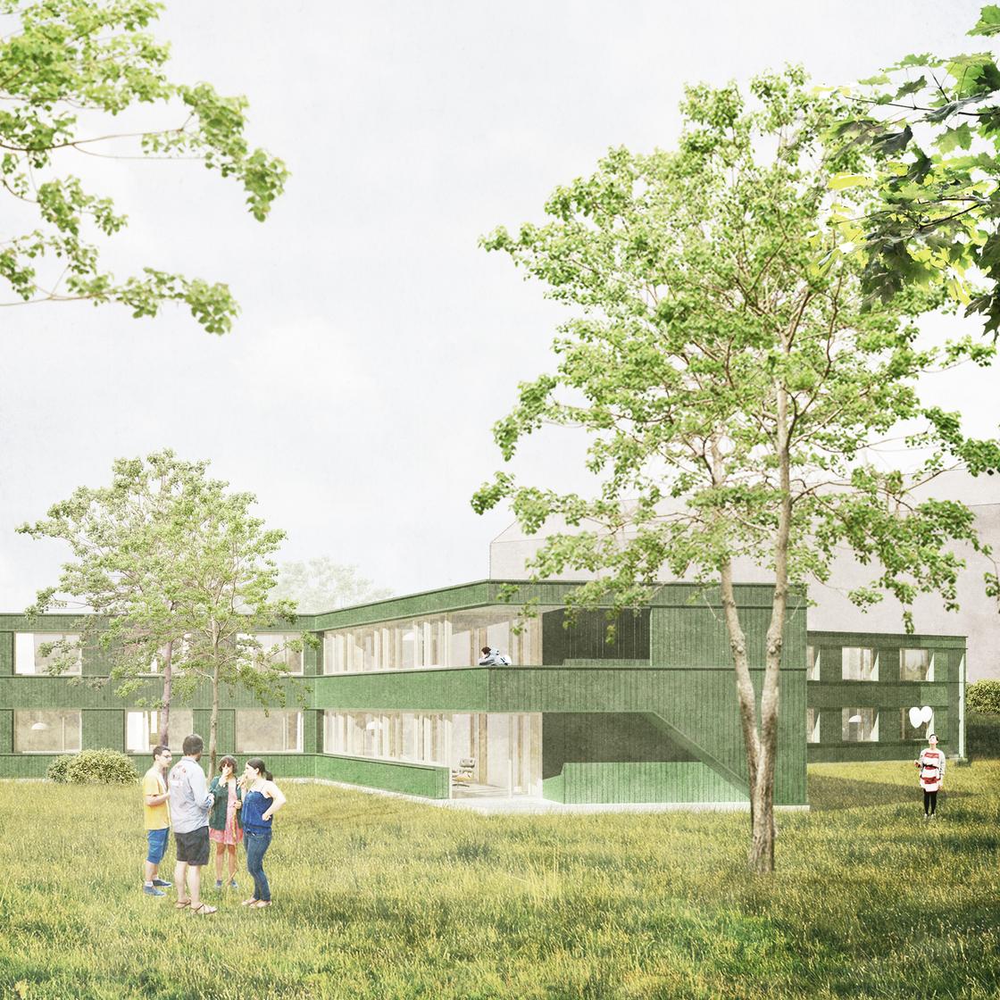Kinderhaus Frank Frankfurt-Sossenheim Waechter + Waechter