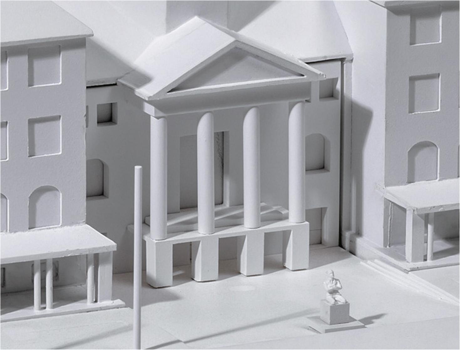 Modell Eingang Museum Wiesbaden